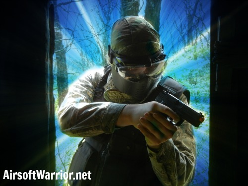Using Corners in Airsoft   AirsoftWarrior.net