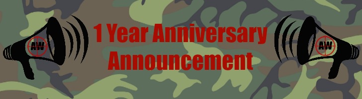 1 Year Anniversary: Announcement | AirsoftWarrior.net