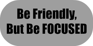Be Friendly, But Be Focused   AirsoftWarrior.net