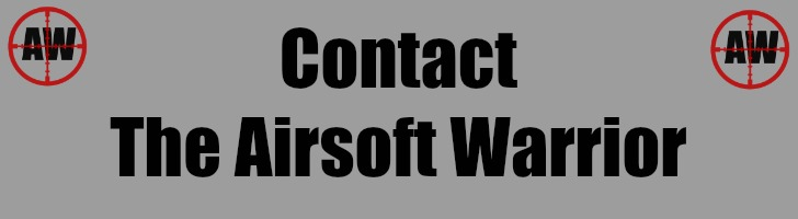 Contact The Airsoft Warrior Page Header