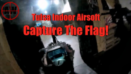 In Game At Tulsa Indoor Airsoft: Capture The Flag!  | AirsoftWarrior.net