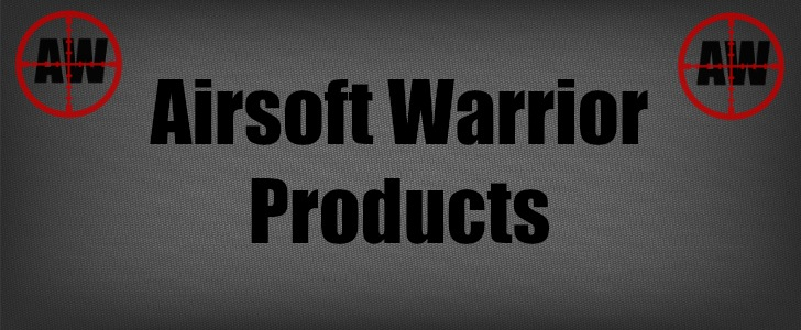 Airsoft Warrior Products Page Header | AirsoftWarrior.net