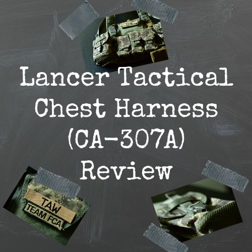 Lancer Tactical Chest Harness (CA-307A) Review | AirsoftWarrior.net