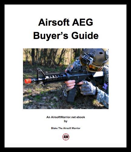 Airsoft AEG Buyer's Guide ebook | AirsoftWarrior.net