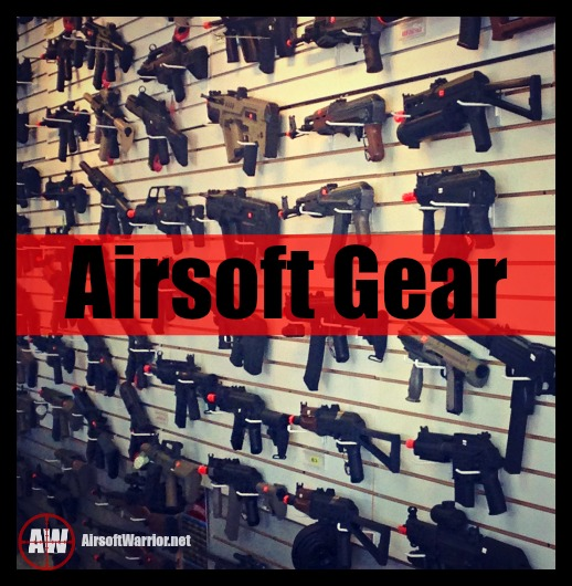 Airsoft Gear Page Graphic | AirsoftWarrior.net