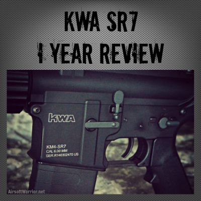 KWA SR7 1 YEAR Review | AirsoftWarrior.net