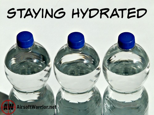 Staying Hydrated | AirsoftWarrior.net
