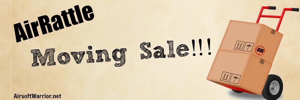 AirRattle.com Moving Sale!!!