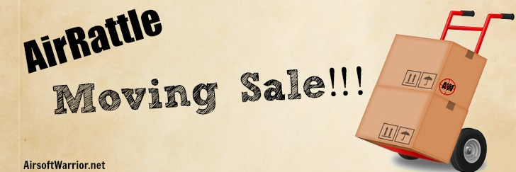 AirRattle Moving Sale | AirsoftWarrior.net