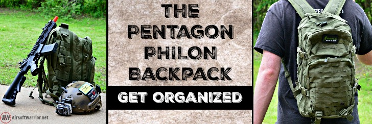 The Pentagon Philon Backpack: Get Organized | AirsoftWarrior.net