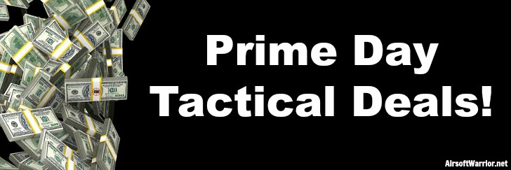 Prime Day Tactical Deals | AirsoftWarrior.net
